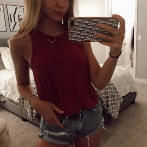 Copper / Red Tank Top